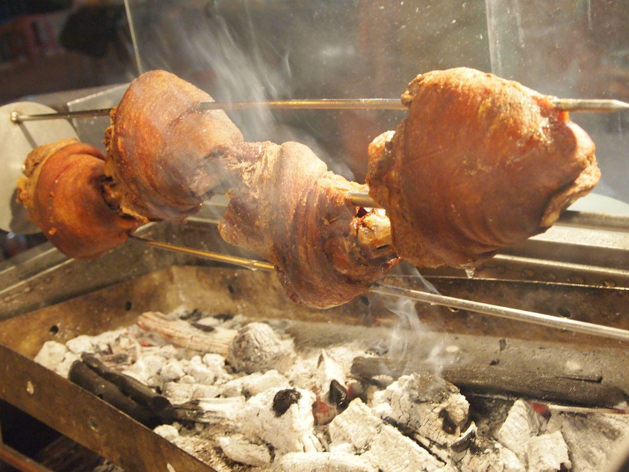 roast pig foot
