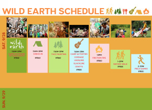 WILD EARTH SCHEDULE