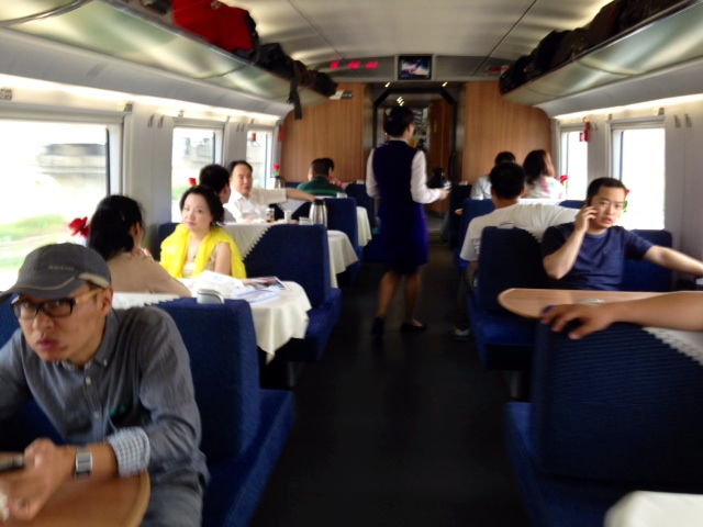 food cart on high speed rail